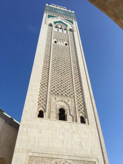 El minarete de la Mezquita de Casablanca es el más alto del mundo