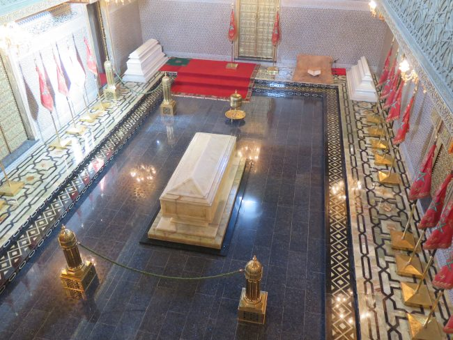 Principales visitas en la capital de Marruecos