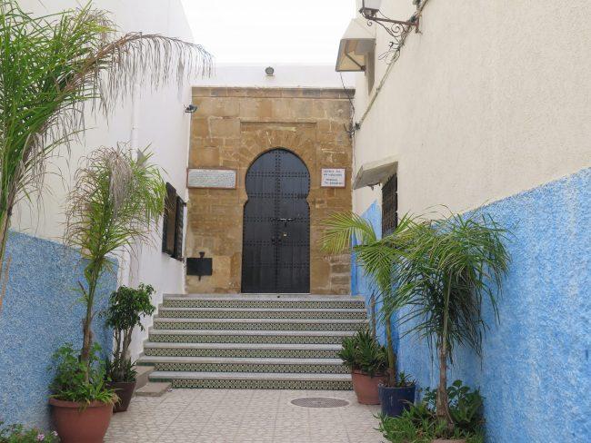 Asentamiento de moriscos en Rabat