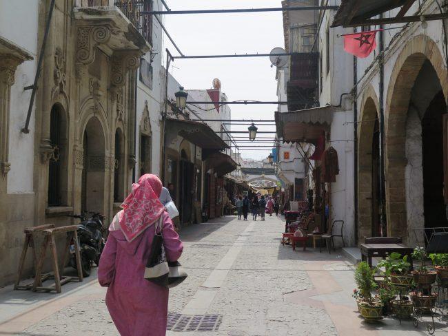 No perderse en Rabat