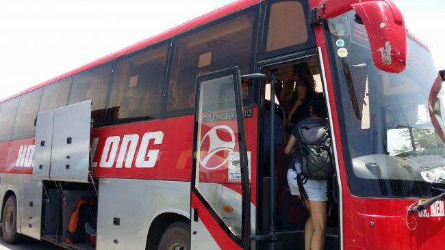 Trayecto de Hanoi a Cat Ba