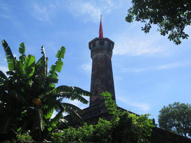 Torre principal de la Ciudad Imperial de Hanoi