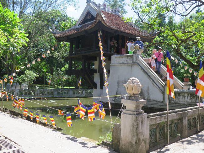 Visitas en el Complejo del Mausoleo de Ho Chi Minh