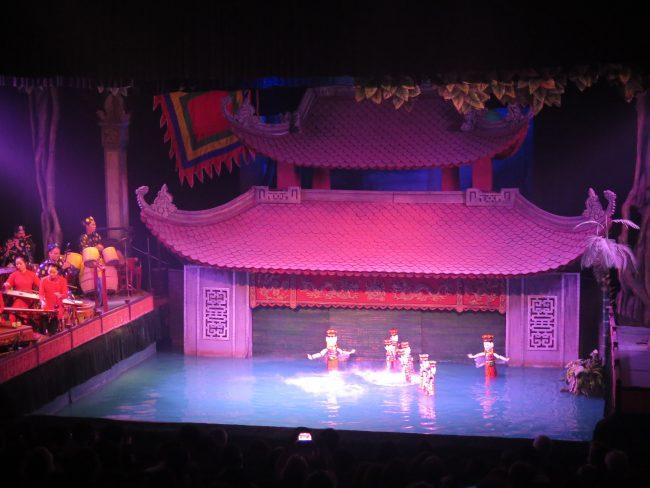 Teatro de marionetas de agua Hanoi