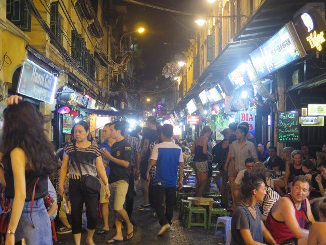 Qué hacer en Hanoi de noche