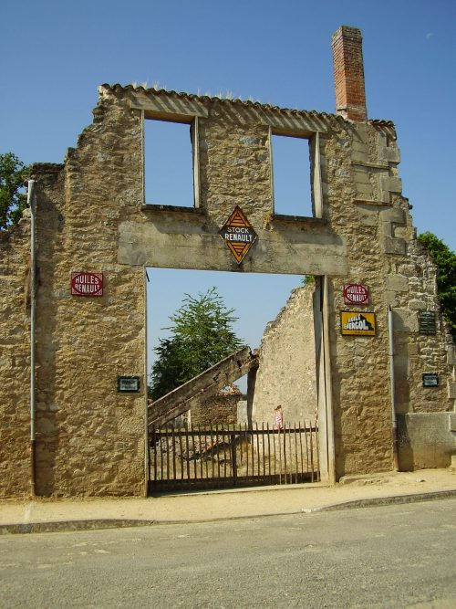 Pueblo fantasma Francia