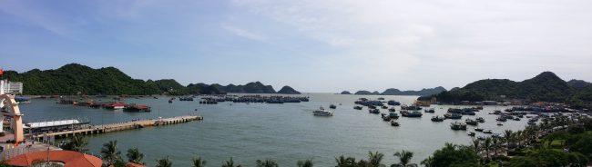 Preparar un tour en la Bahía de Halong