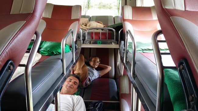 Autobuses vietnamitas de larga distancia