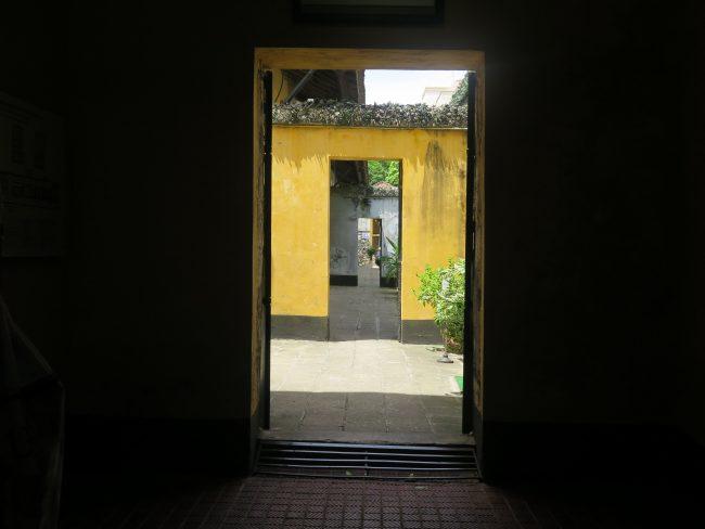Prisión en la que estuvo encarcelado el senador McCaine en Vietnam