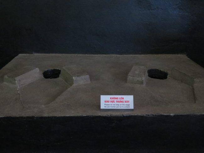Vista a la prisión Hoa Lo de Hanoi