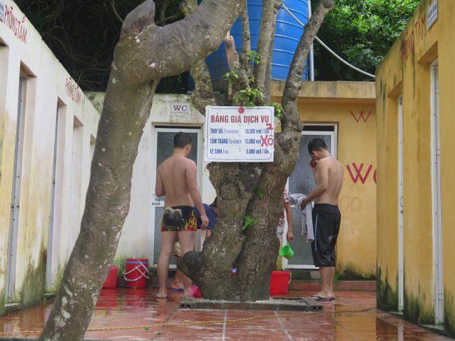Precio de los váteres públicos de Vietnam