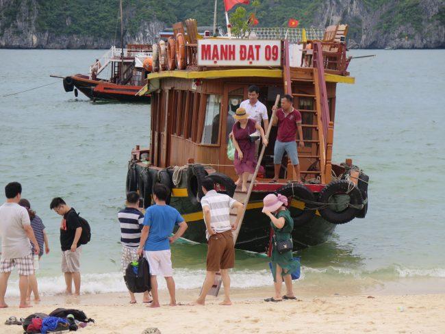 Barcos atracados en Monkey Island