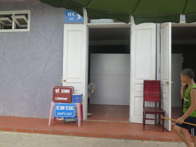 Precio de los WC públicos en Vietnam