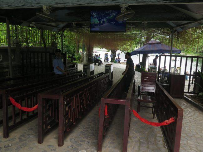 Embarcadero en Tam Coc