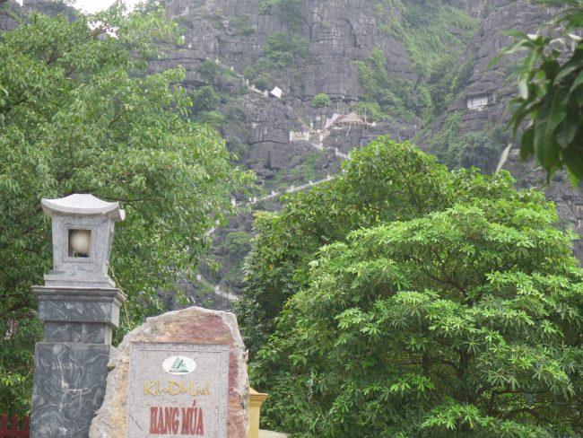 En pico más alto de Ninh Binh