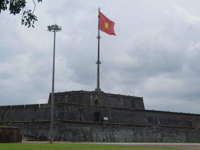 Bandera de la Ciudad Imperial de Hué