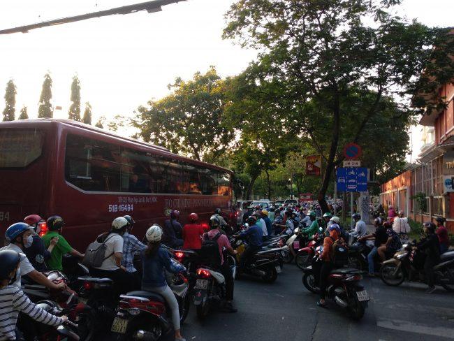 El caos circulatorio de Vietnam