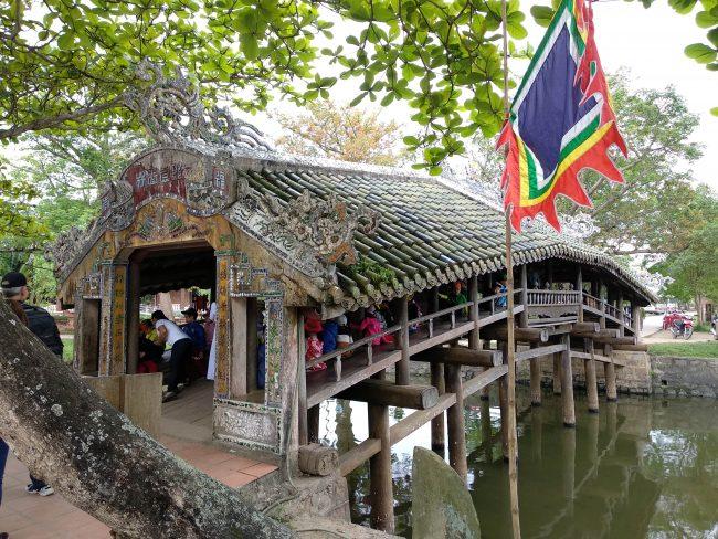 Puentes cubiertos japoneses de Vietnam
