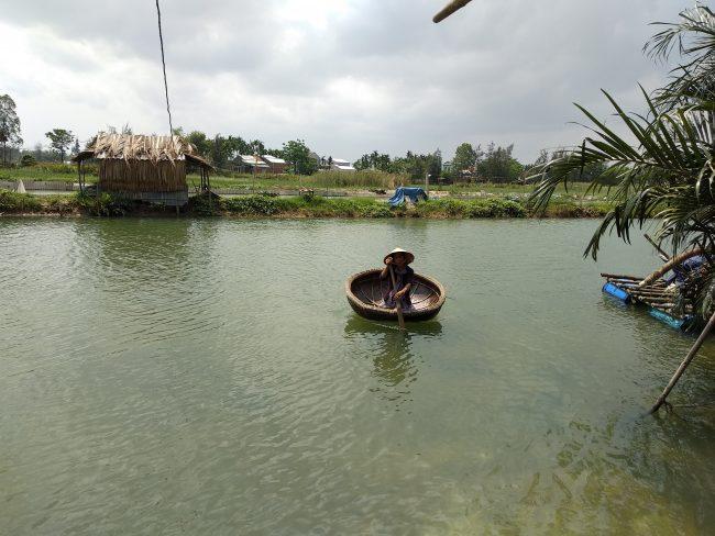 Dónde ver barquitos de cesta en Vietnam