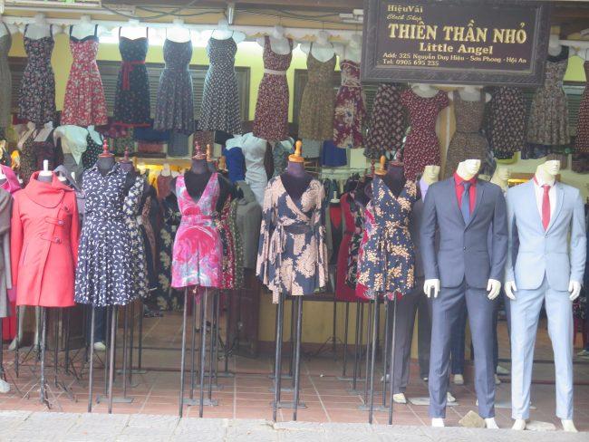 Hacerse un traje a medida en Hoi An