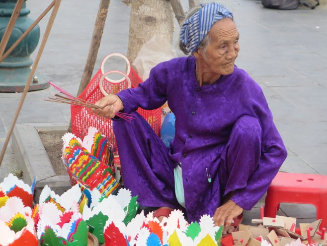 La tradición de los farolillos en Vietnam