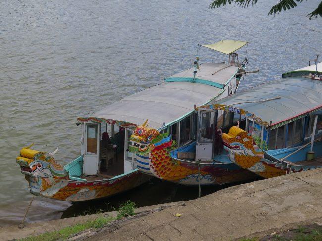 Paseo en Barco en Hué