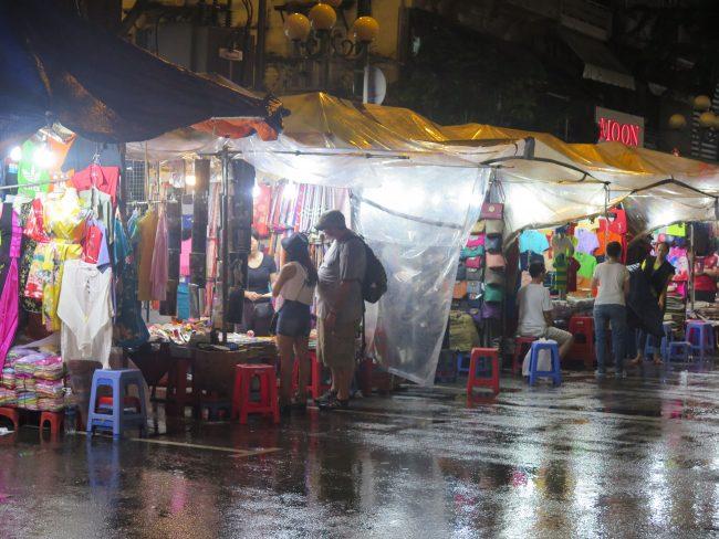 Mercados nocturnos de Ho Chi Minh