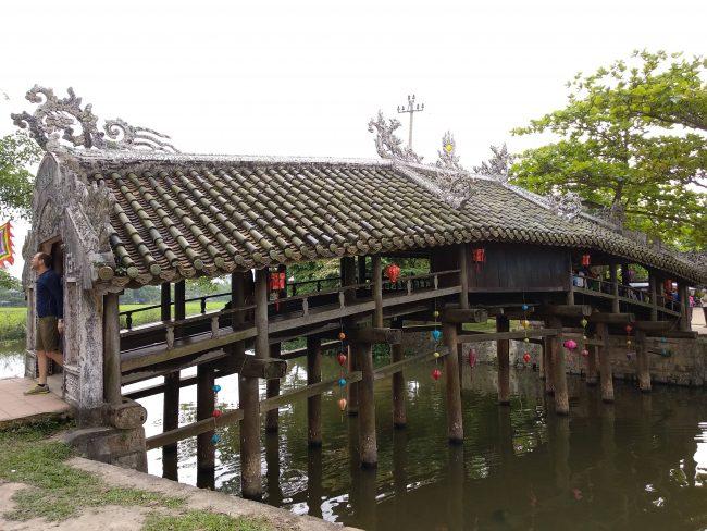 Puentes Cubiertos Japoneses en Vietnam