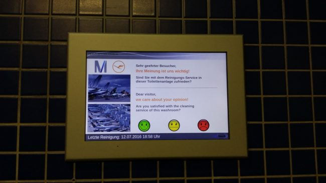 Servicios en los aeropuertos de Munich