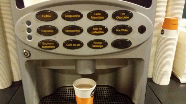 Café gratis en Alemania