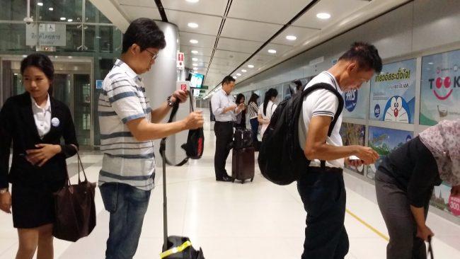 La forma más barata para llegar del aeropuerto al centro de Bangkok