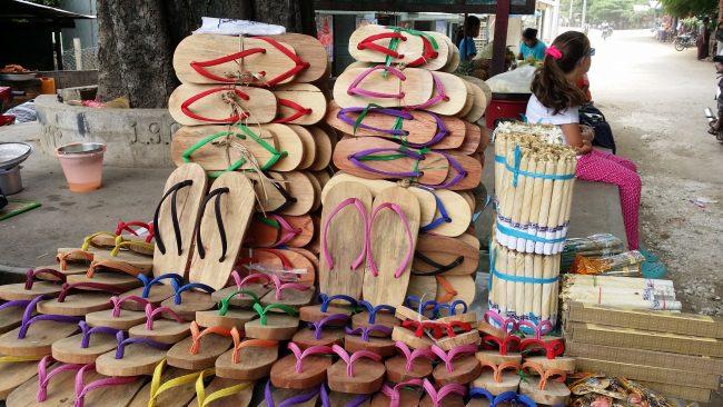 Lugares para hacer compras en Myanmar