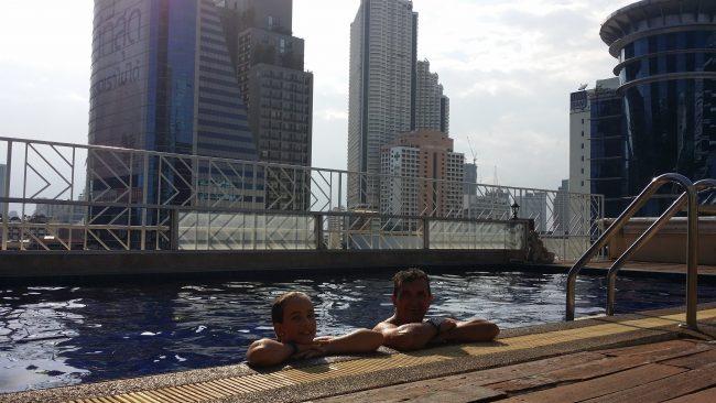 Piscinas de Bangkok
