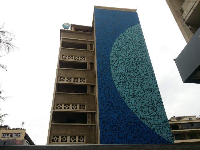 Graffitis en Beirut