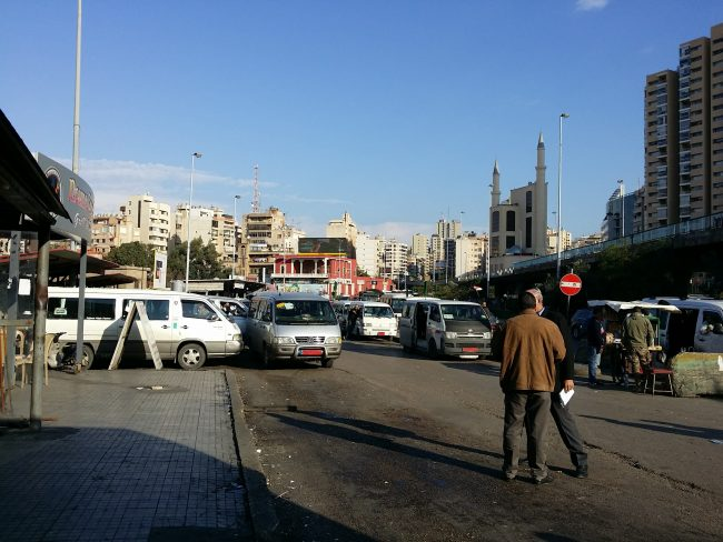 Estación de Cola en Beirut