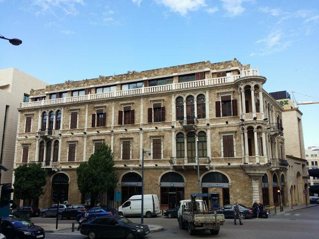 Edificios restaurados tras la Guerra de Líbano
