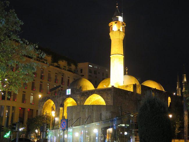 Edificaciones de culto musulmán en Beirut