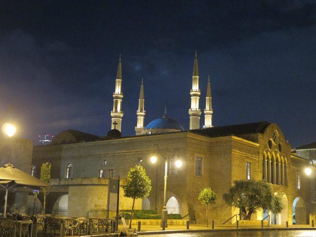 Iglesias reconstruídas tras la guerra en Beirut