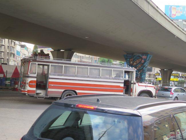Los viejos autobuses de Líbano