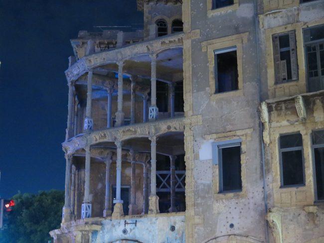 Visitar en Beirut los lugares de la Guerra