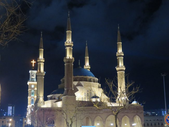 La mezquita más bella de Beirut
