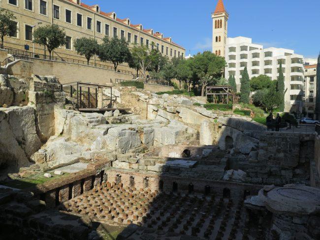 Principales Ruinas Históricas en Beirut