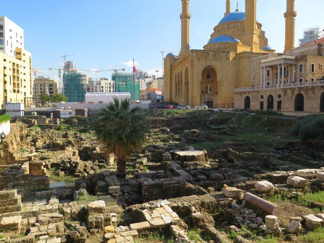 Excavaciones arqueológicas en Beirut