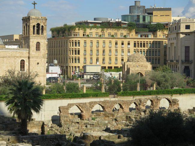 Áreas Arqueológicas en el Centro de Beirut