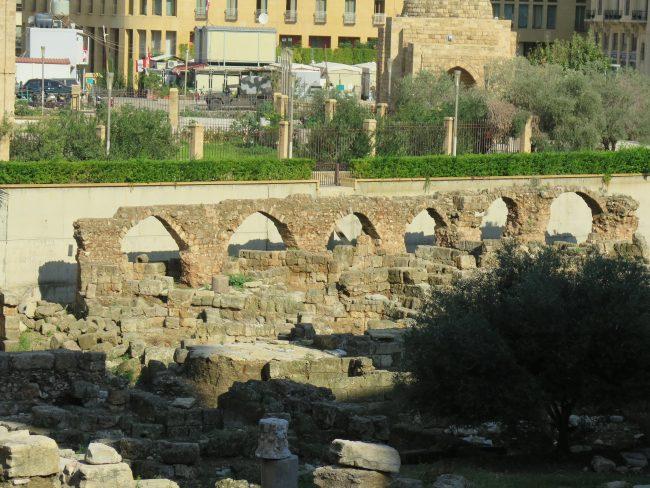 Lugares arqueológicos de Beirut