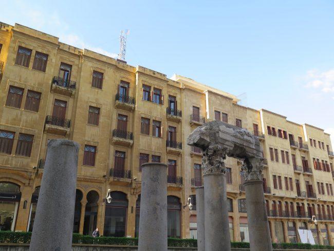 Restos romanos Beirut