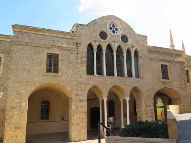 Iglesias saqueadas durante la Guerra del Líbano
