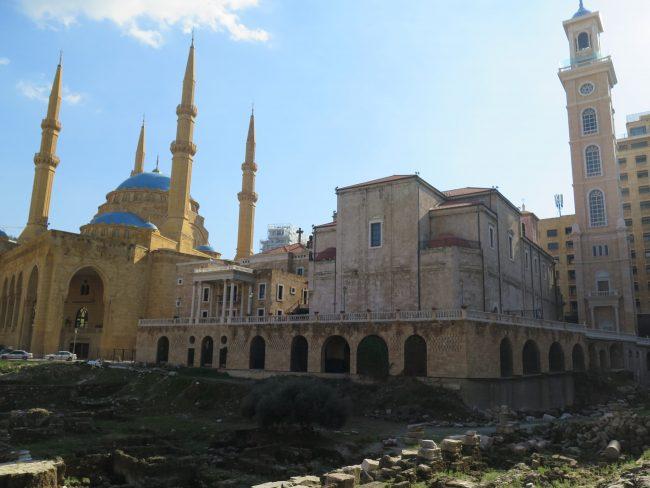 Principales edificios religiosos de Beirut