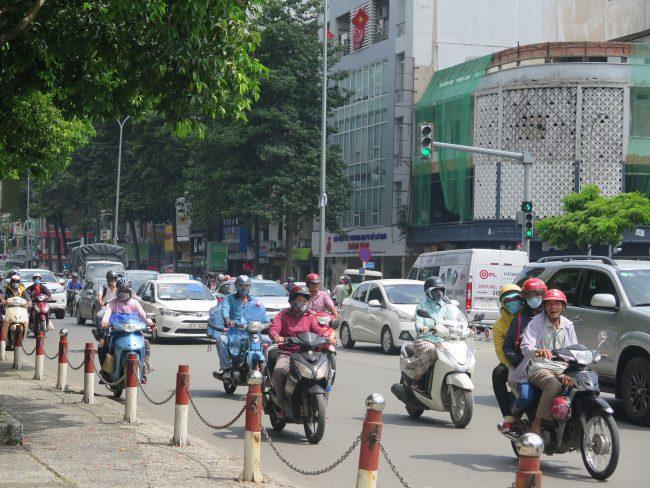 Conducir motos en Vietnam