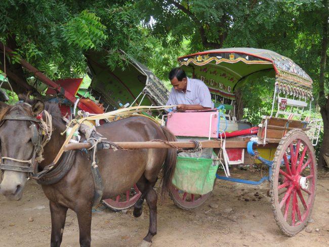 Los transportes más raros de Myanmar